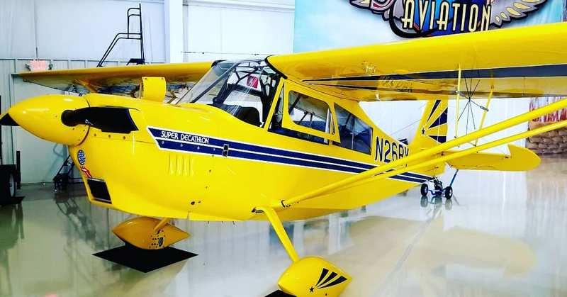 N26BY Super Decathlon Lessons Aerobatics Dare to Dream Aviation