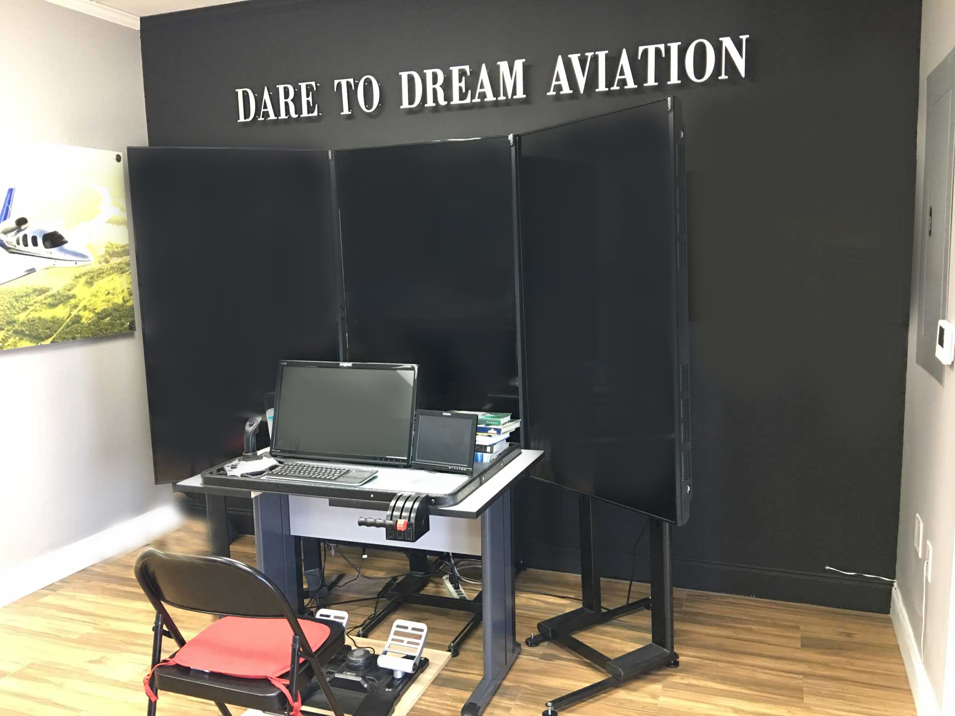 Dare to Dream Flight Simulator