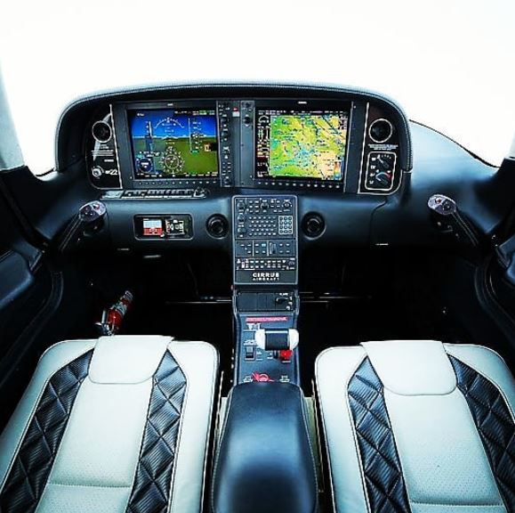 Cirrus Aircraft Interior