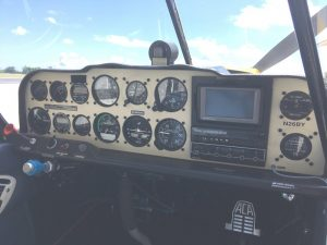 Super Decathlon Instrument Panel