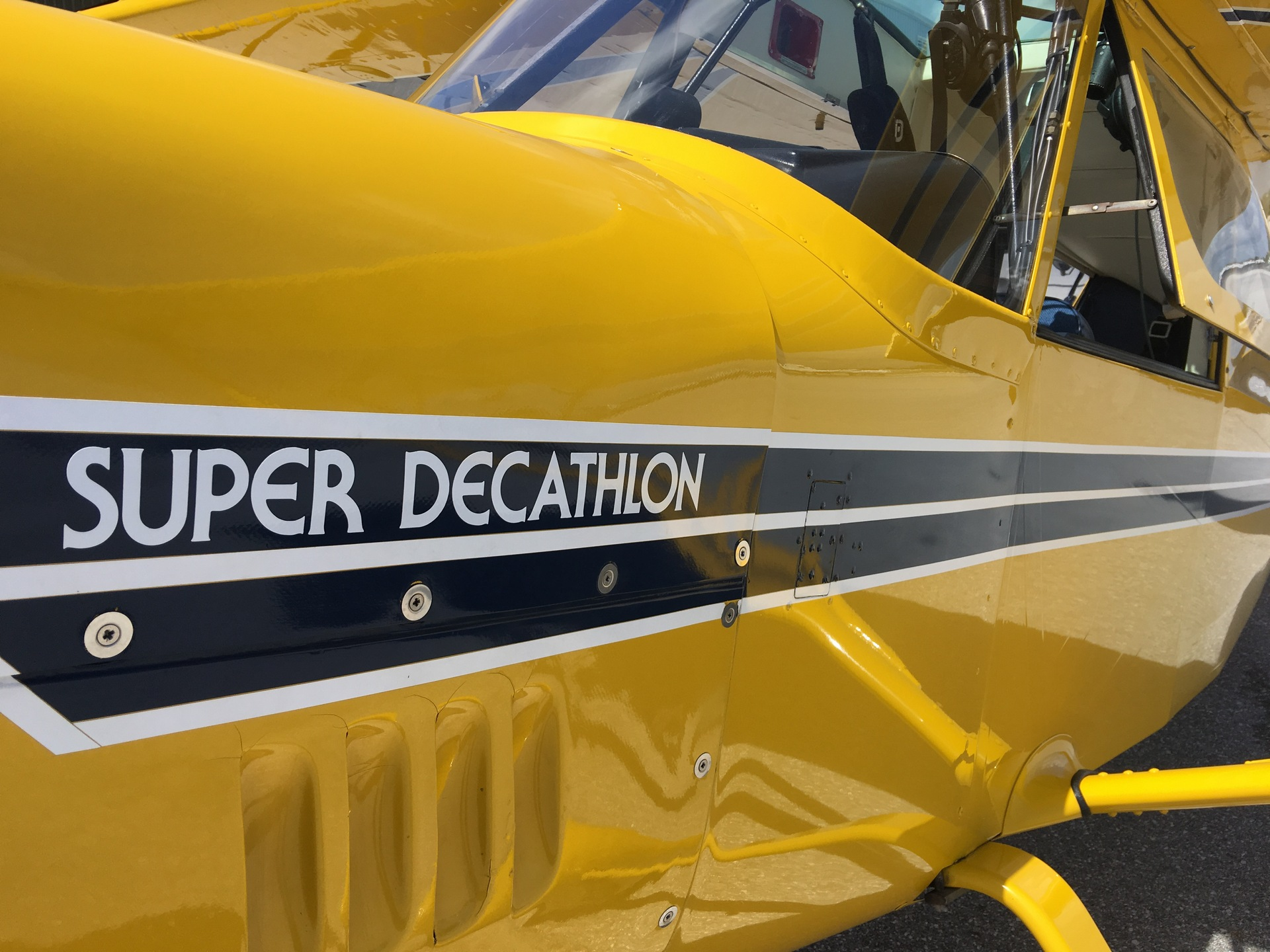 Super Decathlon Tailwheel Training
